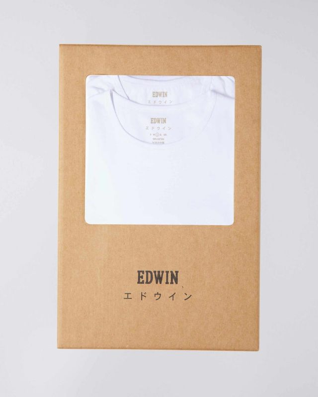 DOUBLE PACK SS TEE - WHITE